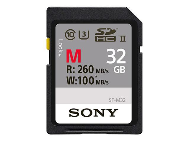 【納期約7~10日】SF-M32 【送料無料】 [SONY ソニー] SDHCメモリーカード 32GB Class10 UHS-II SFM32