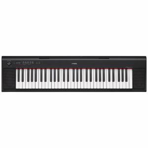 NP-12B 【送料無料】[YAMAHA ヤマハ] 電子キーボード piaggero ピアジェーロ 61鍵盤 ブラック NP12B