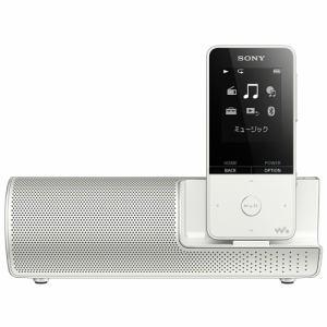 【納期約2週間】SONY ソニー NW-S315K-W ウォークマン Sシリーズ[メモリータイプ] 16GB スピーカー付属 ホワイト NWS315KWC