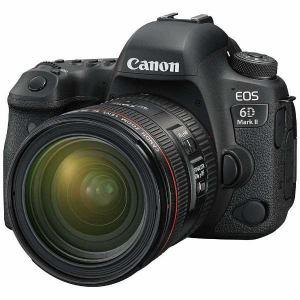 【納期約3週間】【お一人様1台限り】canon キヤノン EOS6DMK2-L2470K デジタル一眼カメラ EOS 6D Mark II EF24-70 F4L IS USM レンズキット EOS6DMK2 L2470K