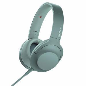 【納期約7~10日】SONY ソニー MDR-H600A-G 【ハイレゾ音源対応】 ヘッドホン 「SONY hear on 2」 (ホライズングリーン) MDRH600AGC