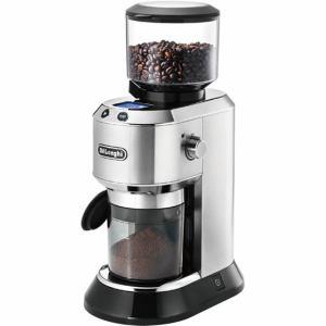 【納期約1~2週間】KG521J-M デロンギ 「デディカ」 コーヒーグラインダー メタルシルバー KG521JM