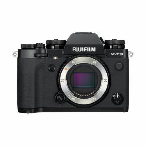 【納期約7~10日】【お一人様1台限り】富士フイルム FX-T3-B ミラーレス一眼カメラ 「FUJIFILM X-T3」 ボディ ブラック XT3 BODY B