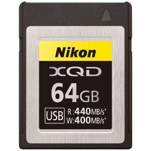 【納期約7~10日】Nikon ニコン MCXQ64G XQDメモリーカード 64GB
