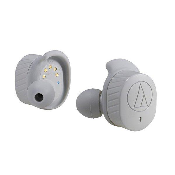 【納期約1~2週間】audio-technica オーディオテクニカ ATH-SPORT7TW-GY 完全ワイヤレス Bluetoothイヤホン(グレー) ATHSPORT7TWGY