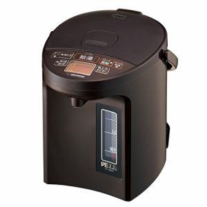 【納期約7~10日】ZOJIRUSHI 象印 CV-GB22-TA マイコン沸とうVE電気まほうびん 2.2L BRAUN ブラウン CVGB22