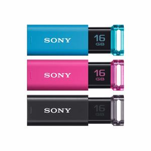 【納期約7~10日】SONY ソニー USM16GU/3C USB3.0対応 USBメモリー 16GB 3本パック USM16GU3C