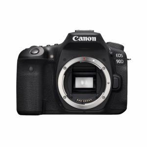 【納期約3週間】◎canon キヤノン EOS90D デジタル一眼レフカメラ EOS 90Dブラック(W)
