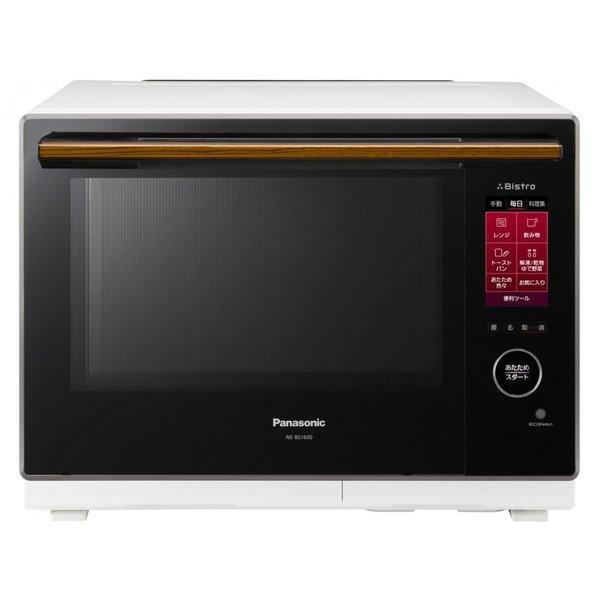 【納期約3週間】【き】Panasonic パナソニック NE-BS1600-W スチームオーブンレンジ 30L ホワイト ビストロ NEBS1600W