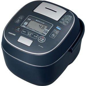◆【在庫あり翌営業日発送OK F-1】TOSHIBA 東芝 RC-10VSN-L 真空圧力IHジャー炊飯器(5.5合炊き) インディゴブルー 合わせ炊き RC10VSNL