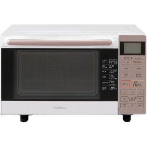 【納期約1~2週間】アイリスオーヤマ MO-F1801-WPG 東日本/西日本共用 オーブンレンジ 18L フラットテーブル ピンクゴールド MOF1801WPG
