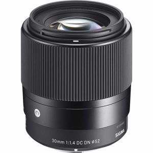 【納期約3週間】SIGMA シグマ 交換用レンズ 30mm F1.4 DC DN マイクロフォーサーズマウント