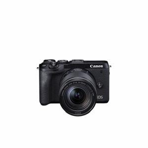 【納期約3週間】◎canon キヤノン EOSM6MK2 LLKBK ミラーレスカメラ EOS M6 Mark II (ブラック)・EF-M18-150 IS STM レンズキット