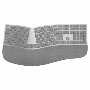 【納期約1~2週間】Microsoft マイクロソフト 3RA-00021 Surface Ergonomic キーボード 英字キー配列(シルバー) 3RA00021