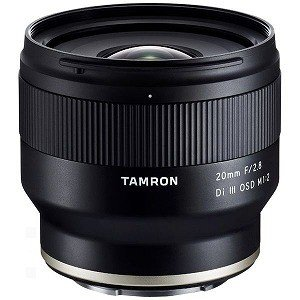 【納期約2週間】TAMRON タムロン 20mm F/ 2.8 Di III OSD M1:2 (Model:F050) ※FEマウント用レンズ(フルサイズミラーレス対応) 20F/ 2.8DI3OSDF050