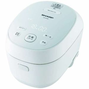 【納期約7~10日】SHARP シャープ KS-HF05B-W 炊飯器 PLAINLY ホワイト系 3合 IH KSHF05BW