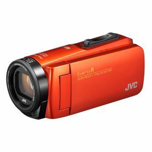 【納期約7~10日】JVC GZ-RX690-D ハイビジョンメモリービデオカメラ Everio R 64GB オレンジ GZRX690D