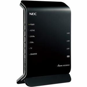 <title>在庫あり翌営業日発送OK F-2 無線ルーター NEC Wi-Fi PA-WG1200HS4 ご予約品 無線LANルータ Aterm 2ストリーム 2×2スタンダードモデル PAWG1200HS4</title>