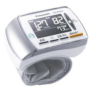 【納期約3週間】【送料無料】[Panasonic パナソニック] 手くび血圧計 EW-BW53-ホワイト) EWBW53W