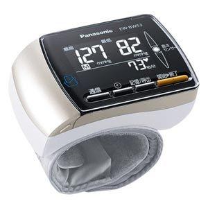 【納期約1ヶ月以上】[Panasonic パナソニック] 手くび血圧計 EW-BW53-K(ブラック) EWBW53K