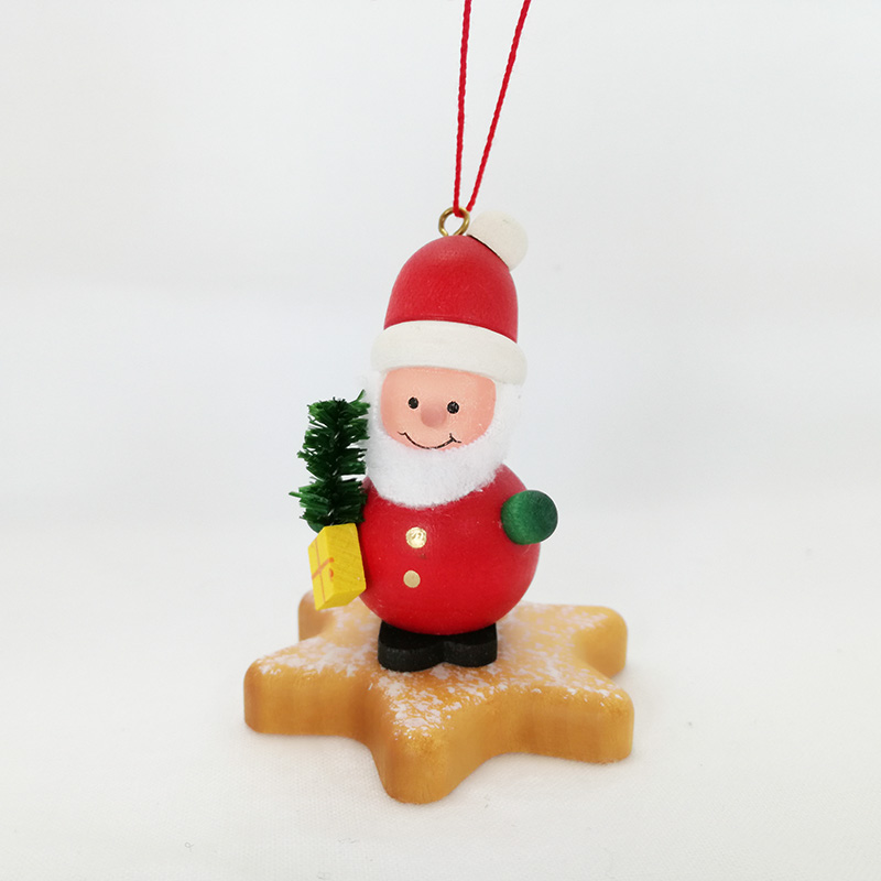 Tree Of Star Germany Industrial Art Object Christmas Tree Decoration ザイフェンマスコット Home Miscellaneous Goods Present Present Santa