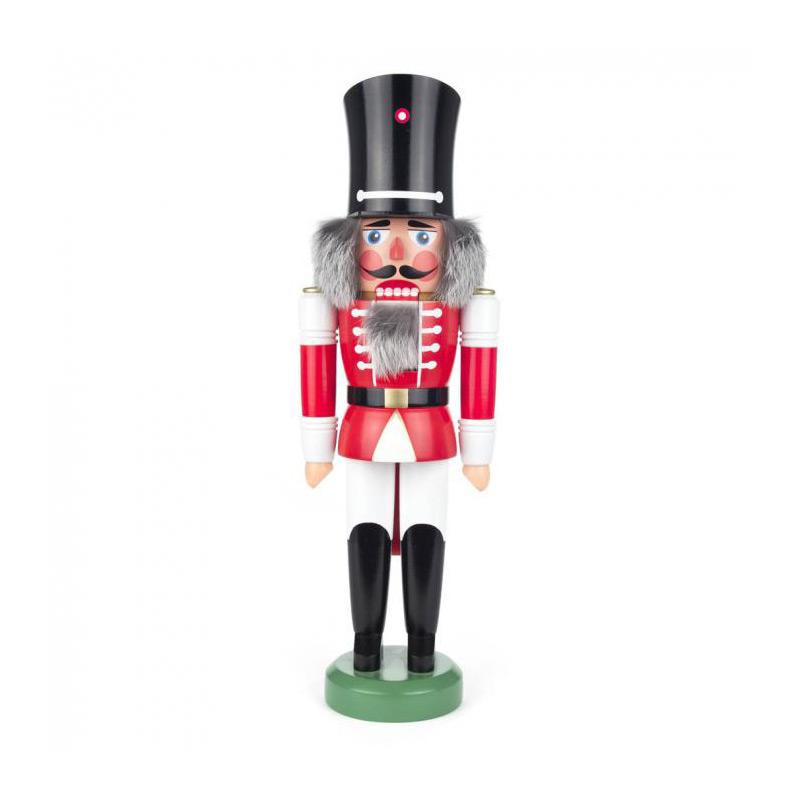 ☆くるみ割り人形☆ 王様 42CM ドイツの木工芸品 クリスマスザイフェン Nutcracker クリスマス雑貨 ラッキー 贈り物 装飾 【KSINTERONLINE】【送料無料】