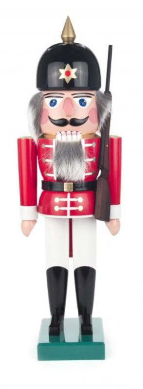 ☆くるみ割り人形☆ 兵士人形 SOLDIER 40CM ドイツの木工芸品 クリスマスザイフェン Nutcracker クリスマス雑貨 ラッキー 贈り物 装飾 【KSINTERONLINE】【送料無料】