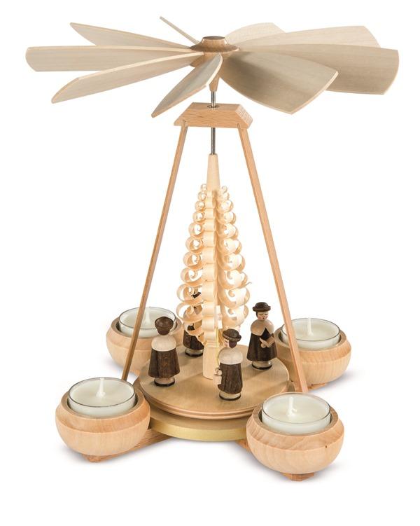 ☆ピラミッド☆ 24CM クリスマスザイフェン CHRISTMAS PYRAMID クリスマス雑貨 クリスマスピラミッド 木製ラッキー 贈り物 装飾 【KSINTERONLINE】