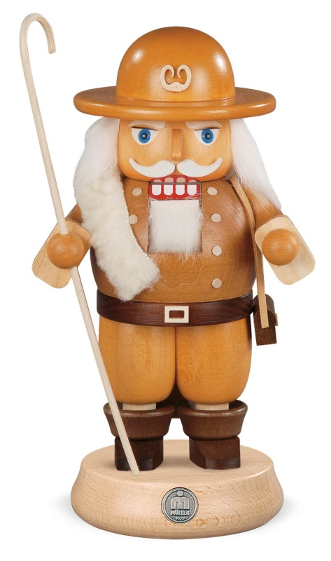 ☆くるみ割り人形☆ 羊飼い 牧人 23CM ドイツの木工芸品 クリスマスザイフェン Nutcracker クリスマス雑貨 ラッキー 贈り物 装飾 【KSINTERONLINE】【送料無料】
