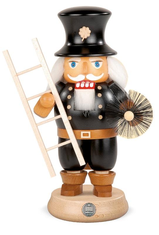 ☆くるみ割り人形☆ 煙突掃除 人形 23CM ドイツの木工芸品 クリスマスザイフェン Nutcracker クリスマス雑貨 ラッキー 贈り物 装飾 【KSINTERONLINE】【送料無料】