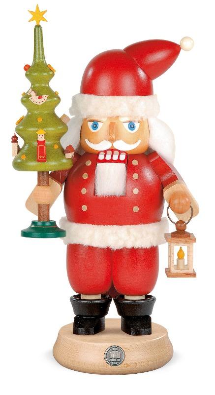 ☆くるみ割り人形☆ SANTA CLAUS サンタクロース 23CM ドイツの木工芸品 クリスマスザイフェン Nutcracker クリスマス雑貨 ラッキー 贈り物 装飾 【KSINTERONLINE】【送料無料】
