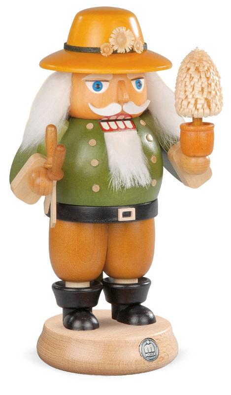 MUELLER くるみ割り人形 にわし 庭作り 職人 23cm ドイツの木工芸品 クリスマス オーナメント グッズ ザイフェン Nutcracker クリスマス雑貨 ラッキー 贈り物 装飾 【KSINTERONLINE】【送料無料】14268