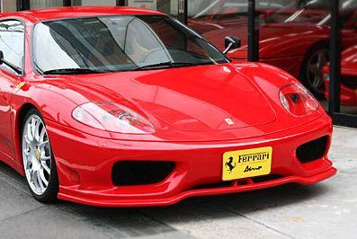 RSD製フェラーリ360チャレンジストラダーレ用フロントリップスポイラー FRPタイプ 当店人気 おすすめ おしゃれ トレンド 48時間限定ポイント 七五三