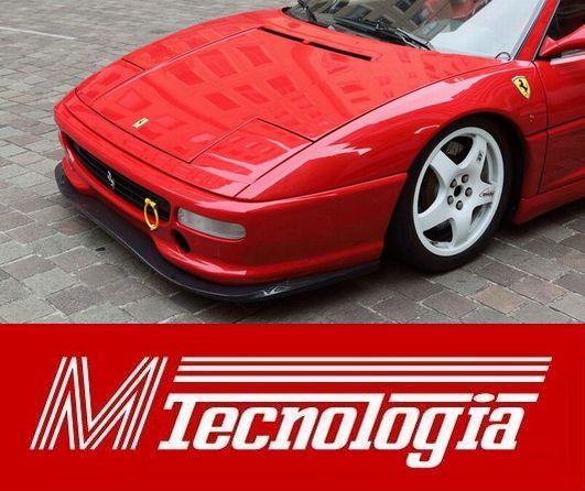 M-Tecnologia製フェラーリF355GTB・GTS・スパイダー・チャレンジ専用フロントスポイラー【カーボン製】