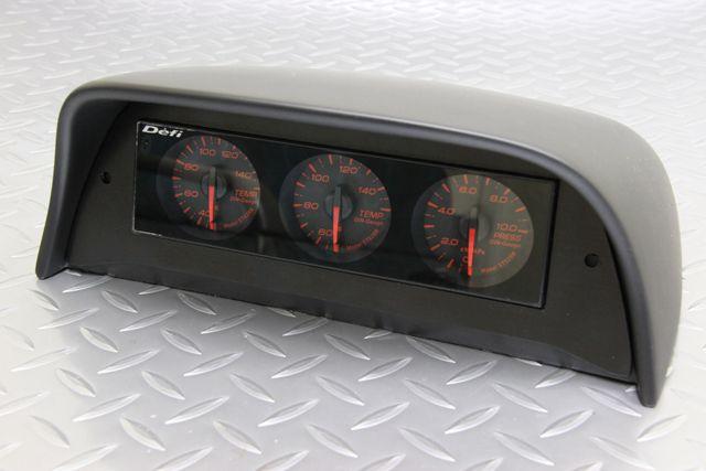 ★追加メーター視認性を考慮★ KSP製NSX(NA1 NA2)専用追加メーターパネル(1DINタイプ)
