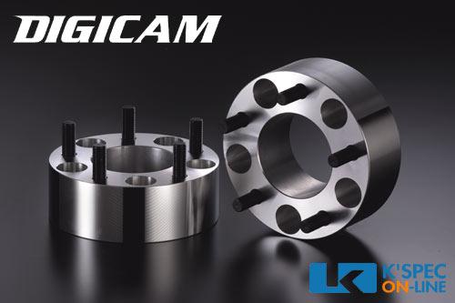 DIGICAM 鍛造ワイドトレッドスペーサー P.C.D.114.3-5H-50mm(P1.5)