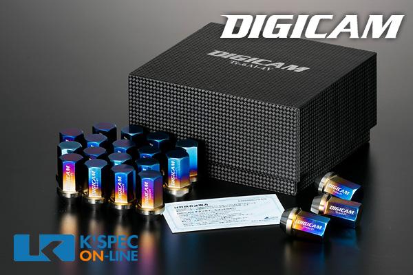 DIGICAM チタンレーシングナット 20本セット 袋タイプ 35mm