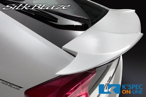 SilkBlazeのエアロパーツシリーズ 国内自社工場にて生産の安心品質 車種専用設計でベストフィッティング _ SilkBlaze 純正色塗装 代引き GLANZENリアウィング 後払い不可 30系プリウス 限定タイムセール 超特価