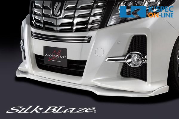 トヨタ【30系アルファード[S] 前期】SilkBlaze エアロ2Pセット Type-S【単色塗装】/バックフォグなし[代引き/後払い不可]