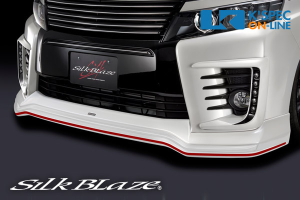 トヨタ【80系ヴォクシー】SilkBlaze フロントスポイラー ABS【単色塗装】[代引き/後払い不可]