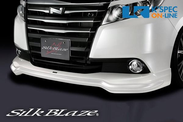 トヨタ【80系ノア G/X】SilkBlaze フロントスポイラー【未塗装】[代引き/後払い不可]