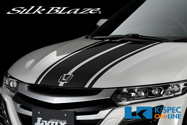 SilkBlaze LynxWorks ボンネットストライプ【S660】Aタイプ