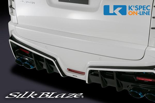 トヨタ【30系ヴェルファイア[Z]】SilkBlaze GLANZEN 鎧 リアゲートパネル【未塗装】/後払い不可