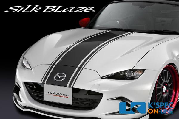 SilkBlaze sports ボンネットストライプ【NDロードスター】/メタリックカラー