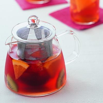 日本製 紅茶にフルーツを入れてアレンジティーも楽しめちゃう HARIO ハリオ 耐熱ガラス 急須 リーフ ティーポット ピュア 食器洗浄機対応 授与 おしゃれ 熱湯対応 爆安プライス 可愛い 4杯用 700ml 電子レンジ対応 CHEN-70T