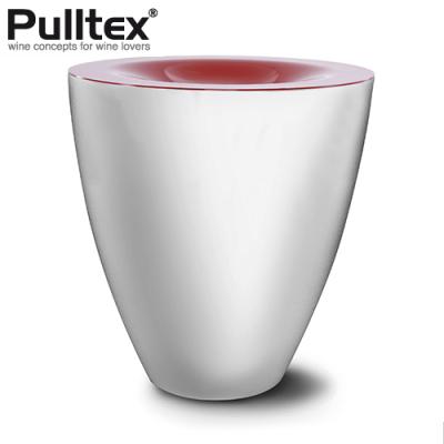 ワインの試飲会を鮮やかに Pulltex プルテックス スピッティングボウル スピトゥーン 最新号掲載アイテム ホワイト TEX517WH Φ195×H210mm 格安 ブラック