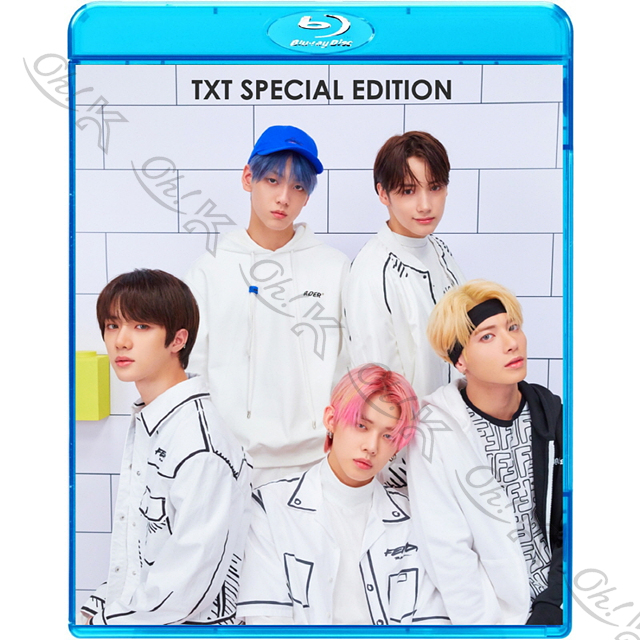 Blu-ray TXT 2020 2nd SPECIAL EDITION Blue Hour Can't You See Me? Run トゥモローバイトゥゲザー Dog Cat 大決算セール ヒュニンカイ K-POP ブルーレイ ボムギュ スビン テヒョン ふるさと割 CROWN Away ヨンジュン
