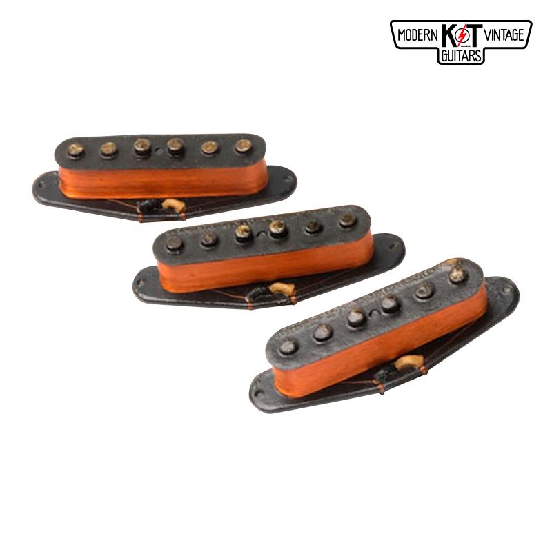 K&T 57LOMセット《エレキギター用 ピックアップ/シングル/カバー付》【全品送料・代引手数料無料!】
