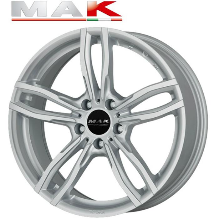 業者発送で送料無料 MAK LUFT 17インチ7.5J+54 5H112(PCD112) BMW専用ホイール4本セット 2シリーズアクティブツアラー(F45),2シリーズグランツアラー(F46), X1(F48), X2(F39)