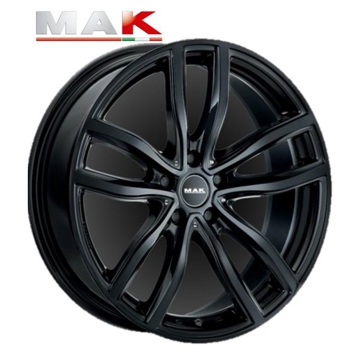 MAK FAHR BK 18インチ7.5J+51 5H112(PCD112)BMW専用ホイール4本セット 2シリーズ アクティブツアラー(F45)/グランツアラー(F46)/X1(F48)/X2(F39)